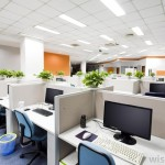 business cubicles